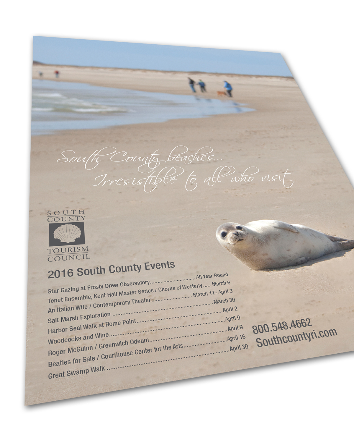 National Magazine Ads - South County Tourism Council on Behance