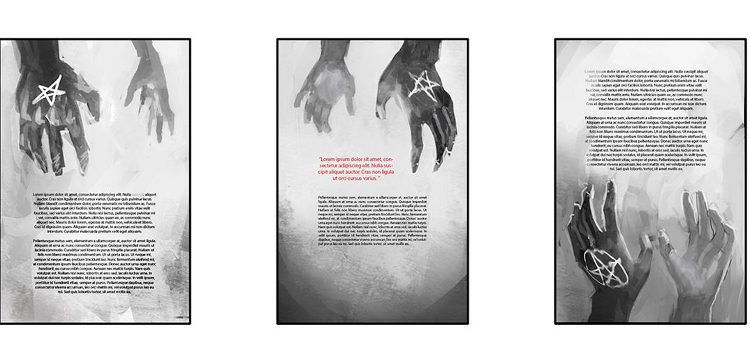 cover book cover concept art