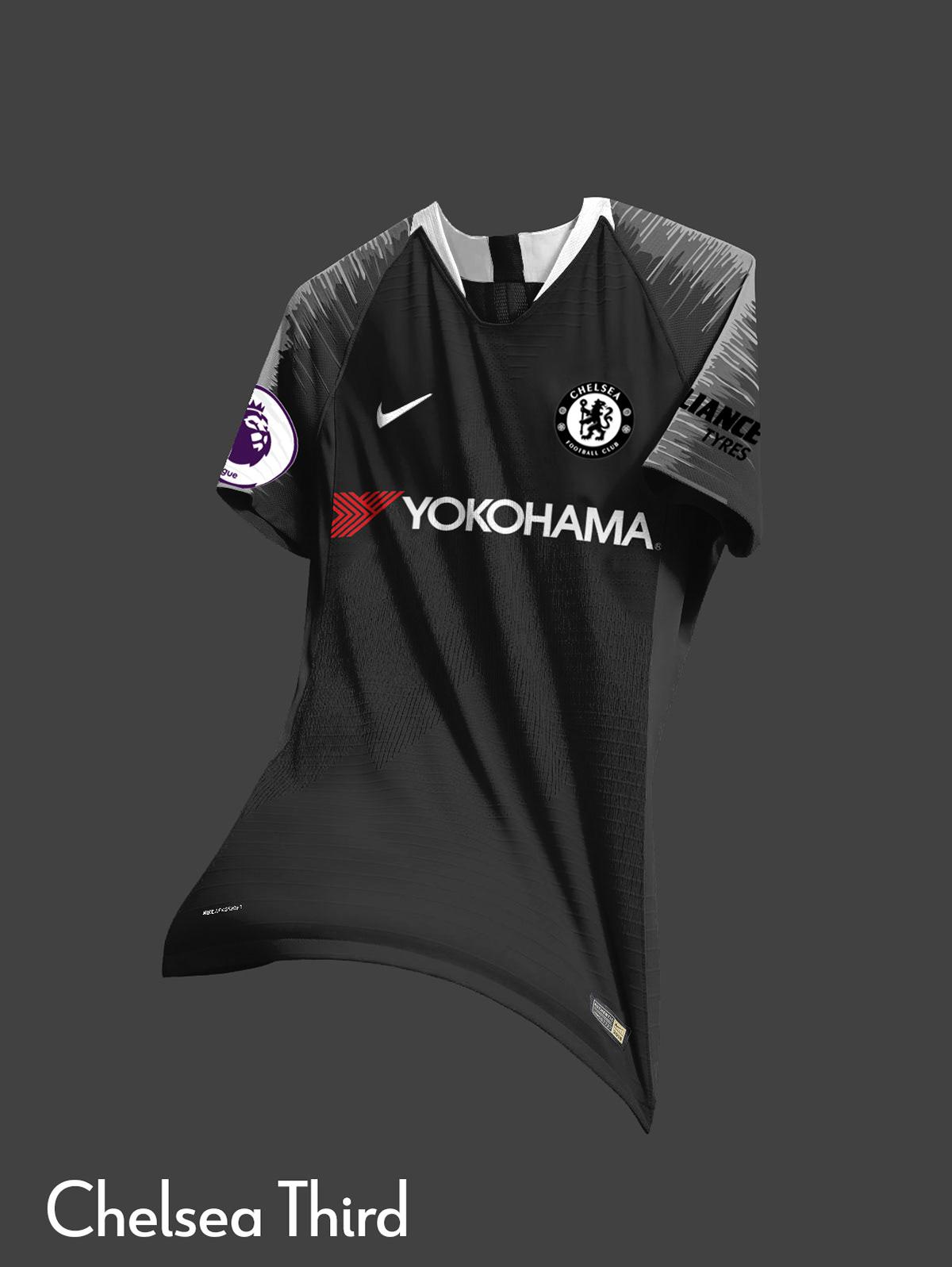 Nike Chelsea Concept Kits 2018 19 On Behance