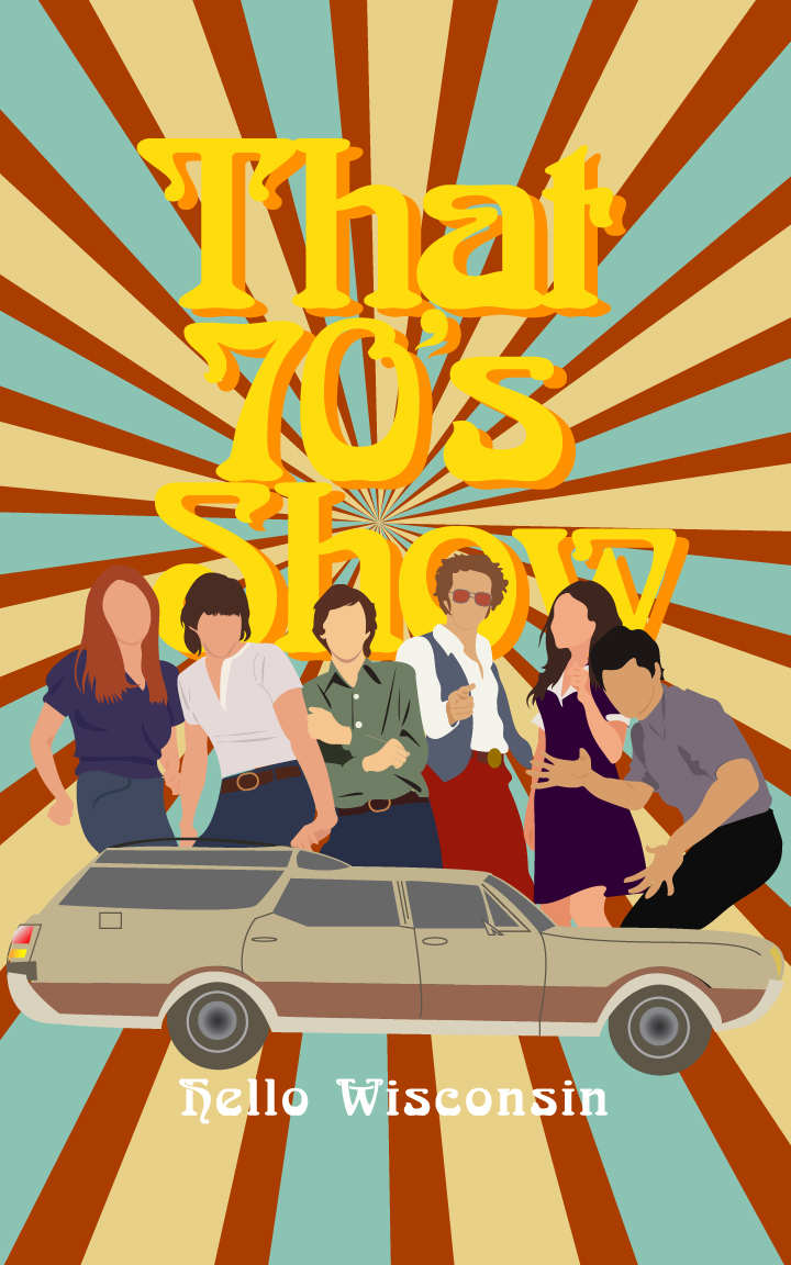 Brand new That 70's Show Posters on Behance DQ09