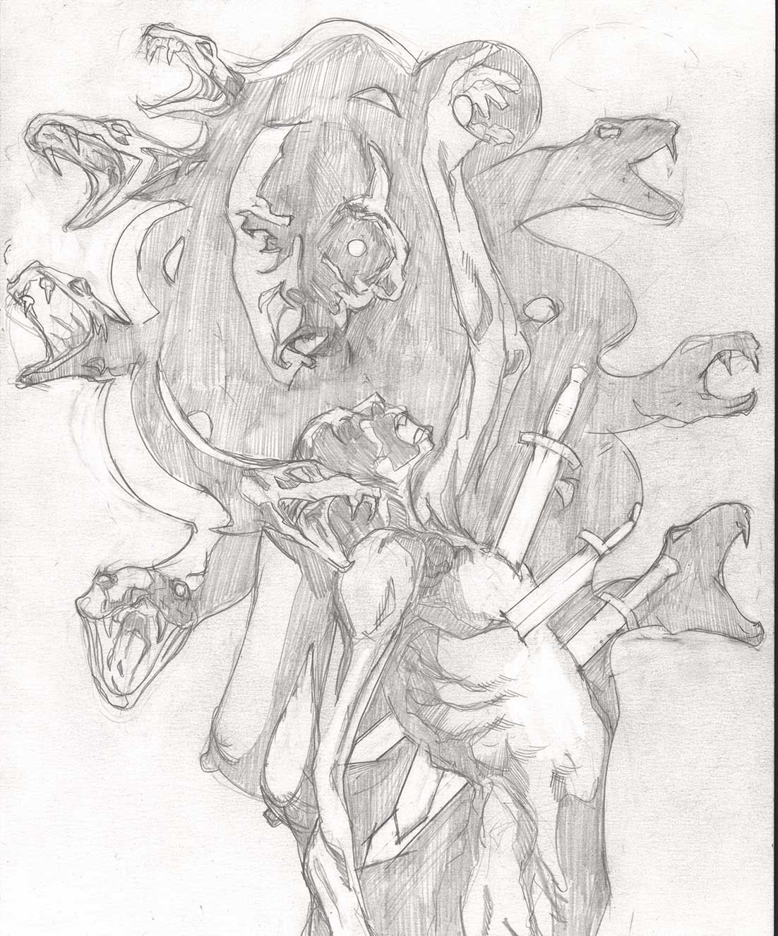 occult Paranormal noir
