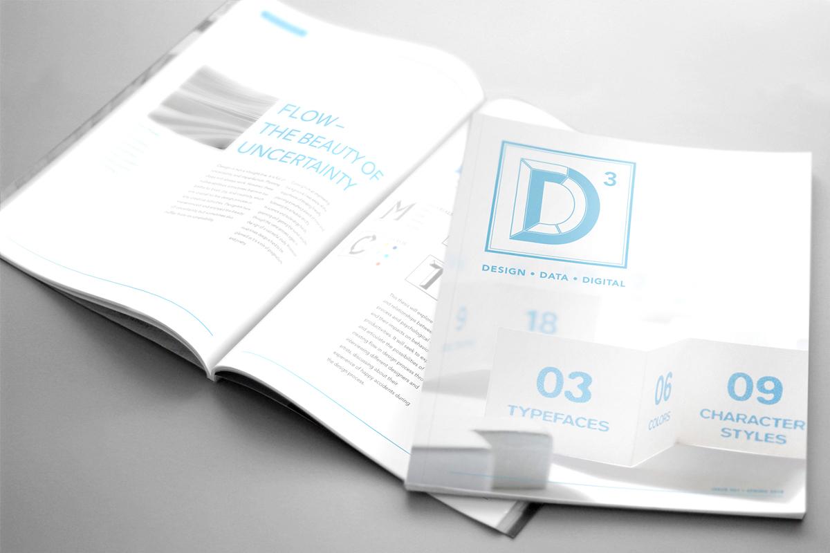 D3 - Editorial Design on Behance