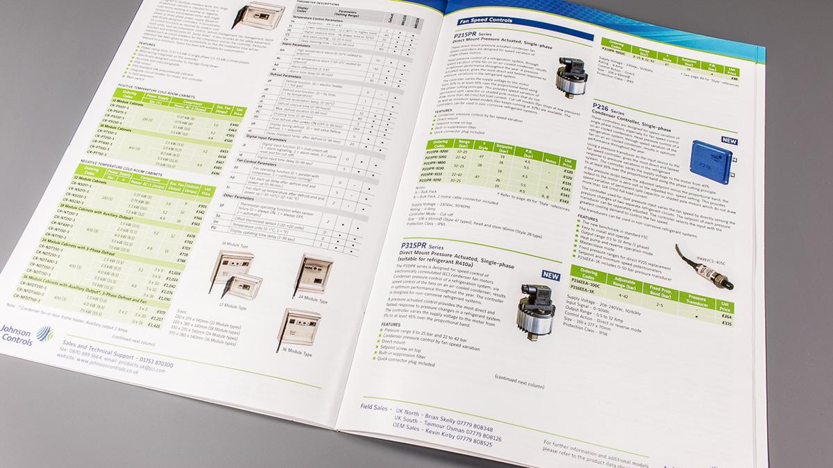Johnson Controls Product Brochure on Behance