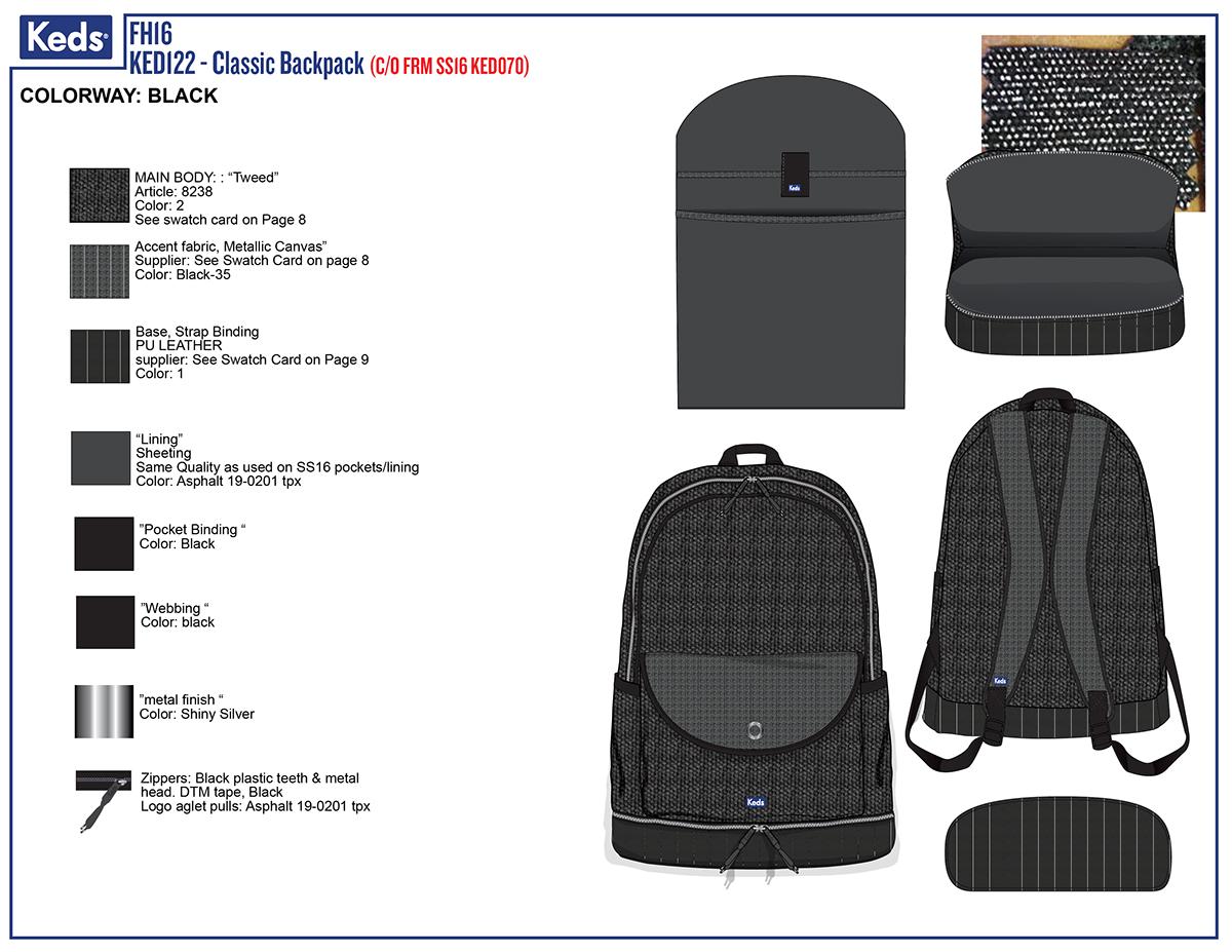 Backpack Tech Pack on Behance