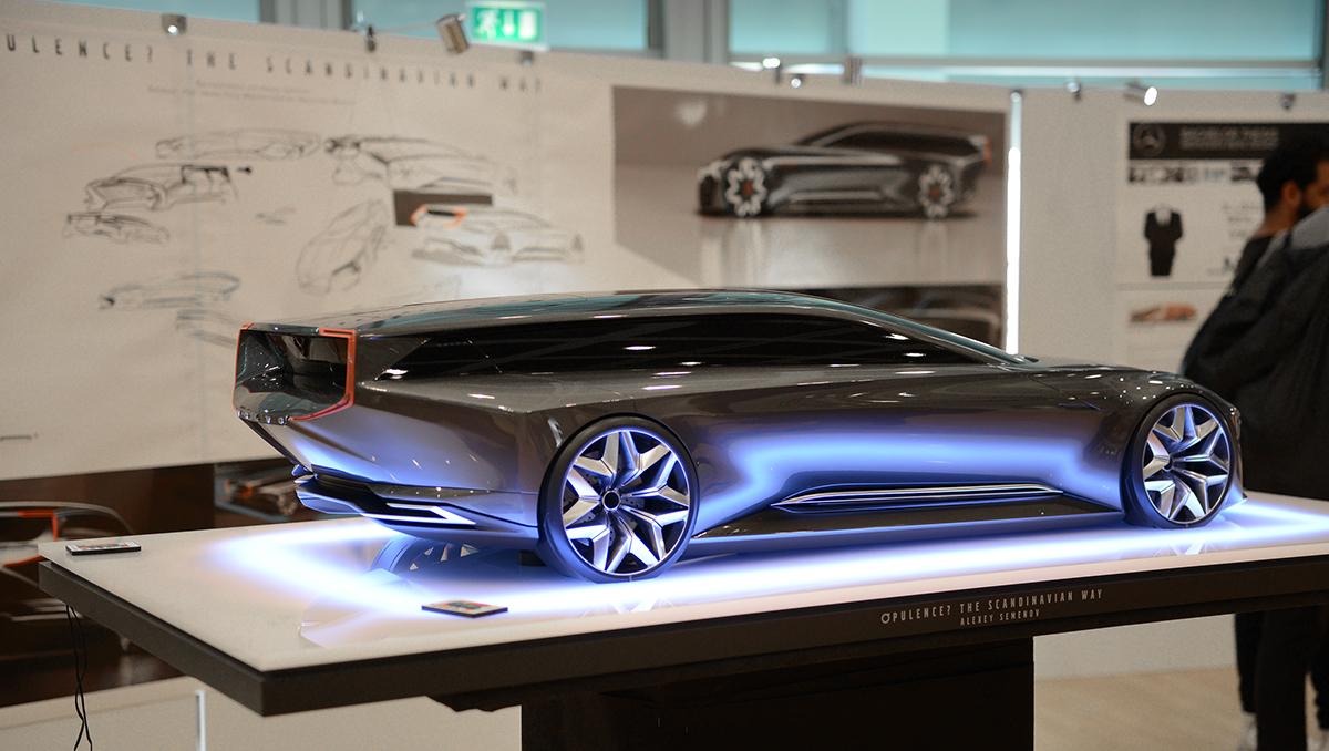 "BA-degree: Volvo ""Opulence? The Scandinavian Way"" on Behance"
