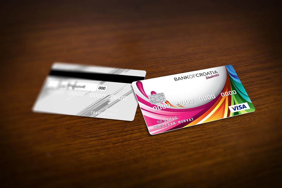 credit card Mockup photoshop freebie
