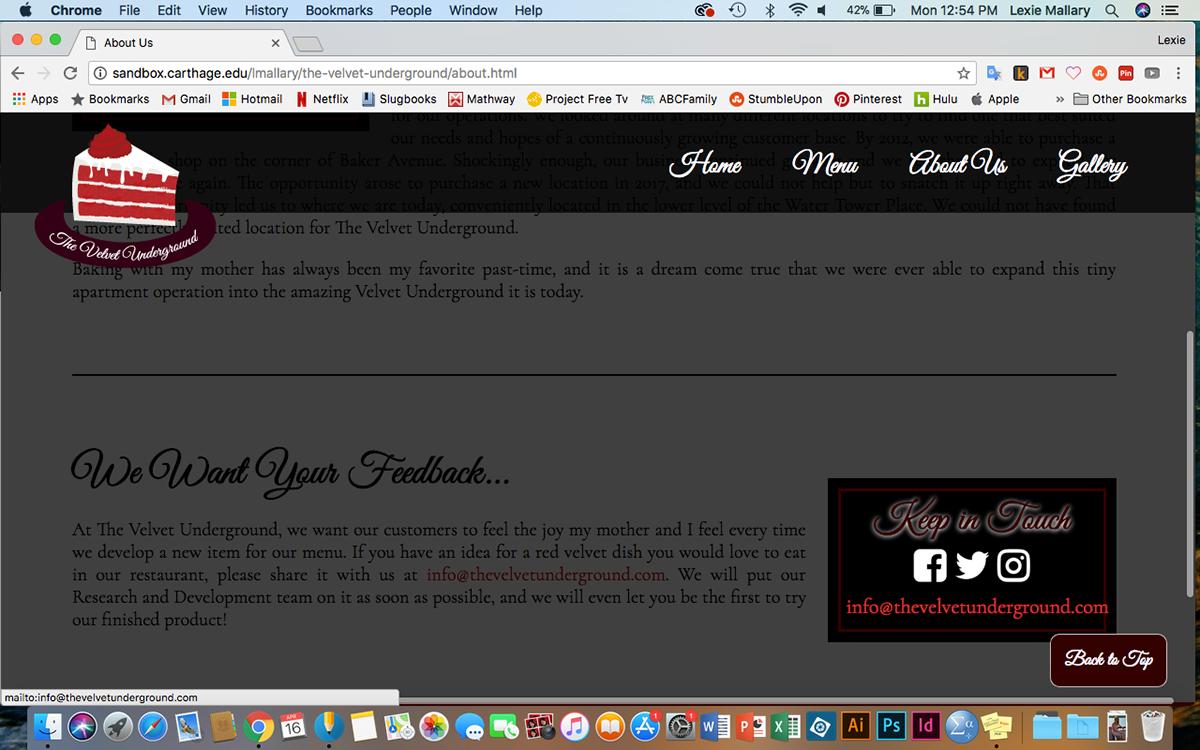 The Velvet Underground Website on Behance on