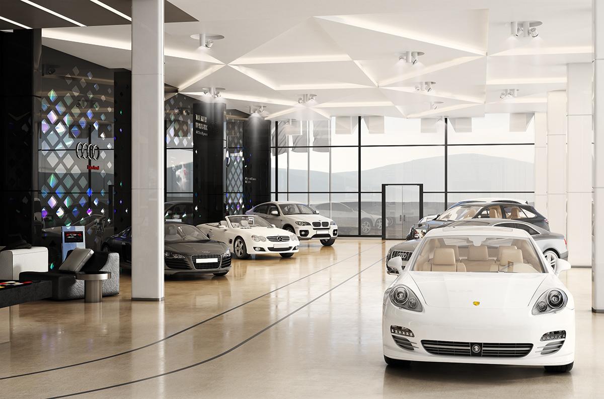 "Car Showroom ""SHAHR KHODRO"" Interior On Behance"