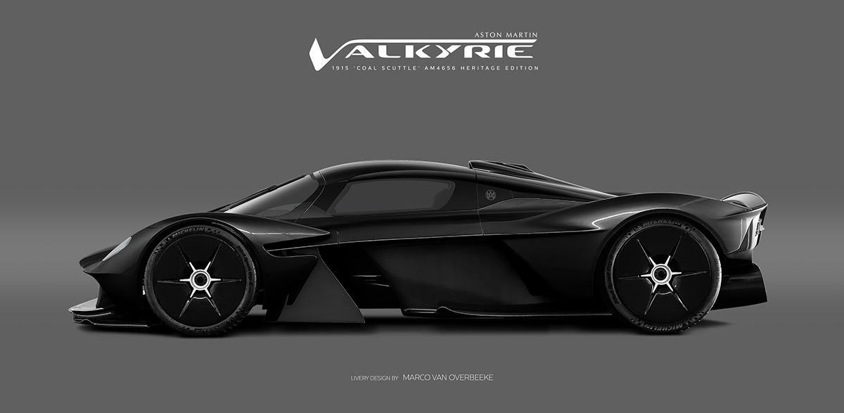 Aston Martin Valkyrie Amr Proheritage Livery Concepts On Wacom Gallery