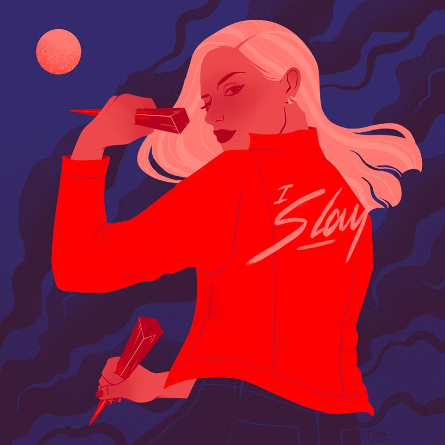 feminism empowerment mythologie portrait witch Girl Power Buffy Angele Fashion