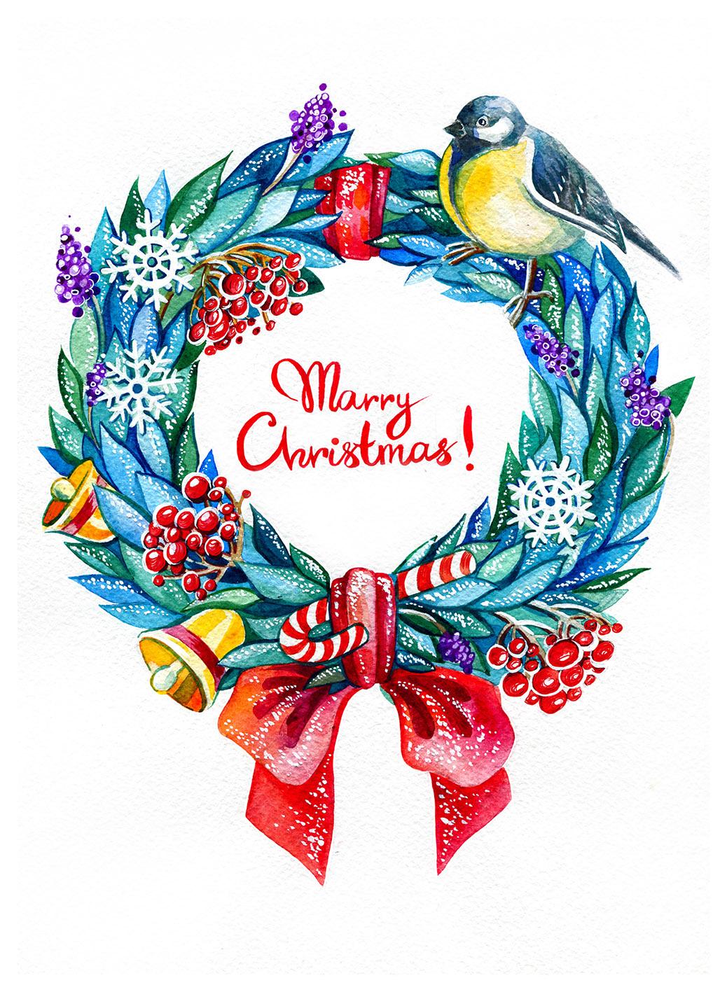 Merry Christmas! Щасливого Різдва!