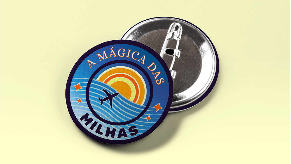 Brand Design identidade visual logo Logotipo Milhas Travel viagem viajar