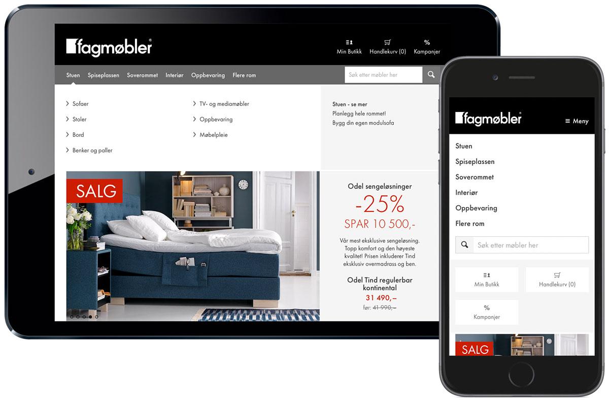 Website furniture store