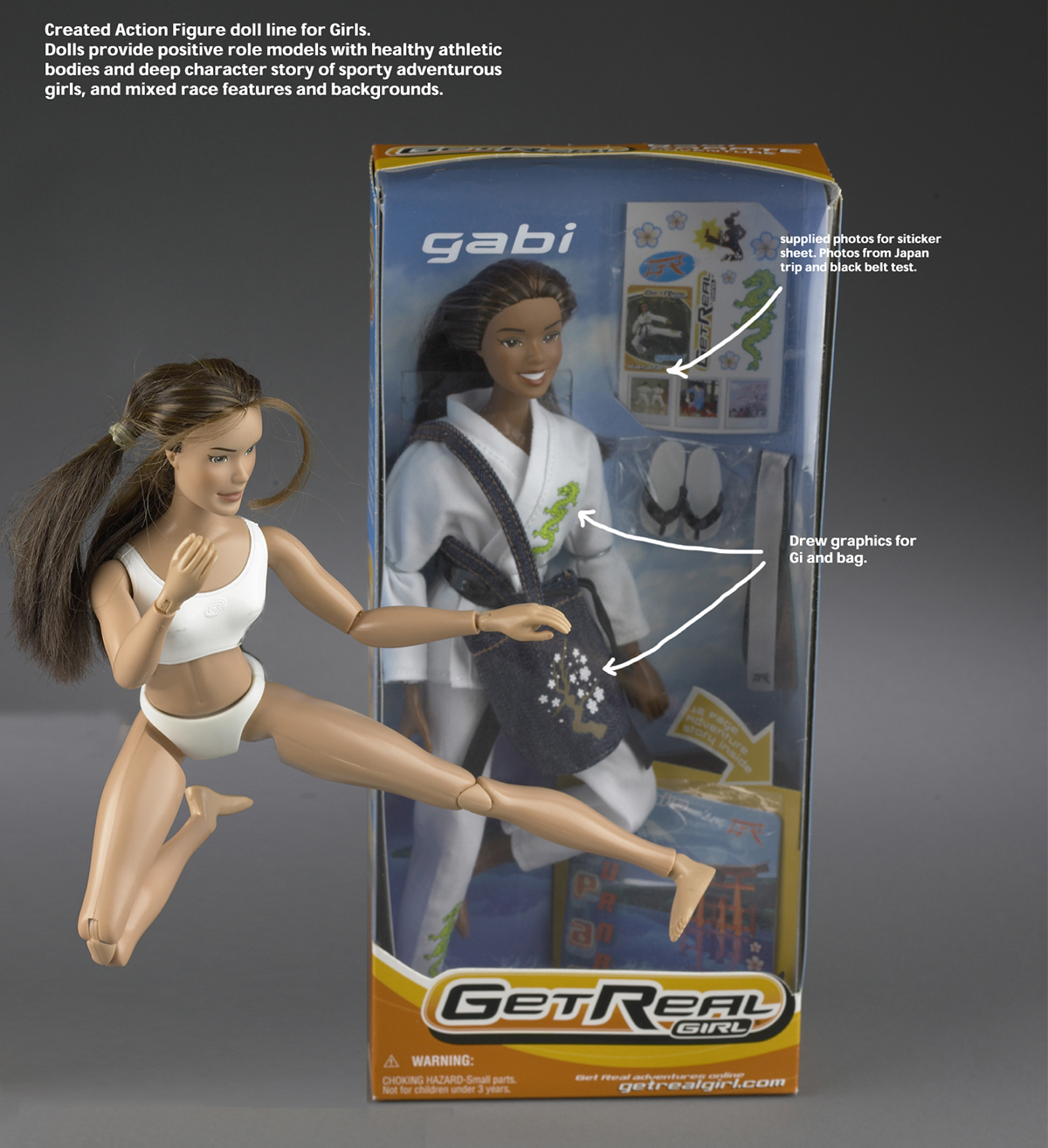 Start Up: Get Real Girl Action Doll Line on Behance