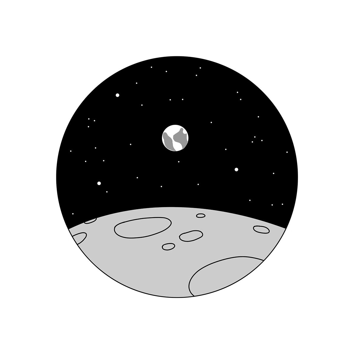 moon landing 2019 funny saiditnet - HD1200×1200