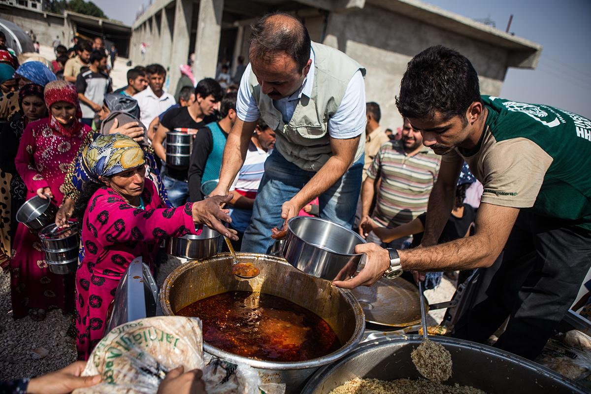 Syria Turkey War conflict refugee