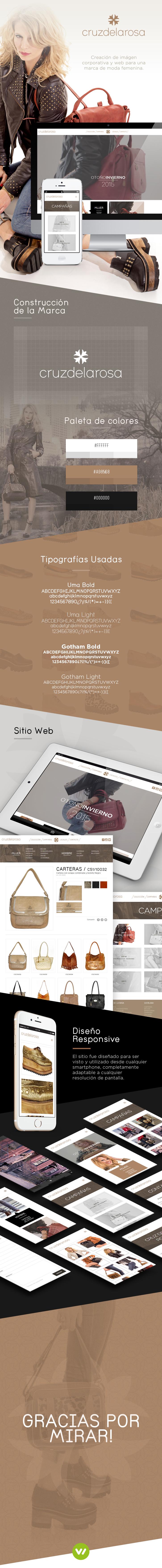 Sitio web de ropa