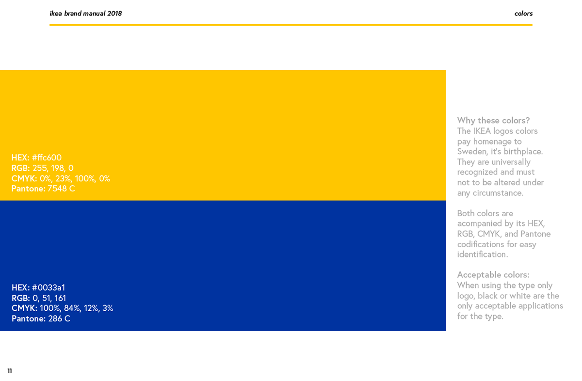 Ikea Brand Guide On Behance