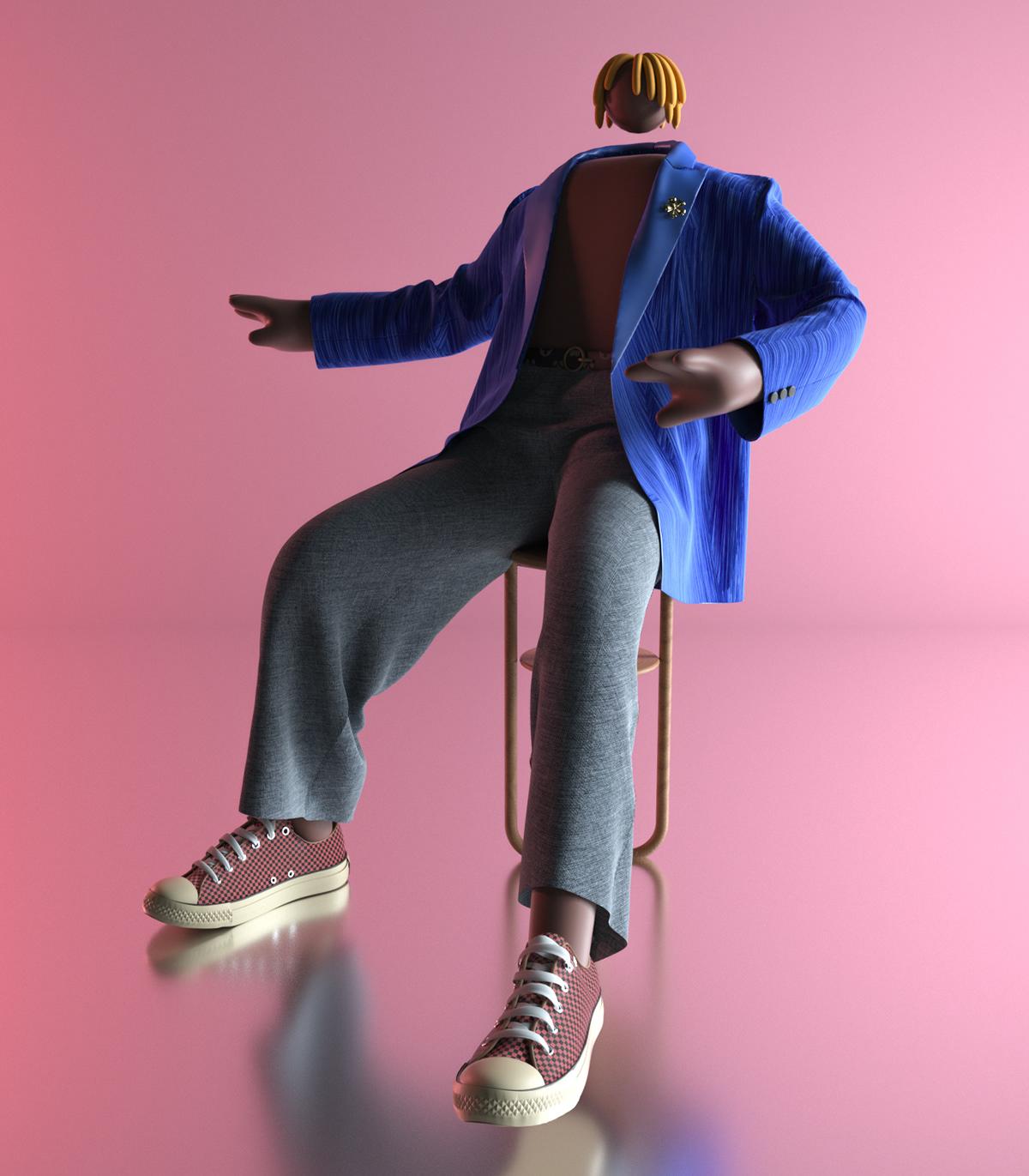 Image may contain: wall, fashion and footwear