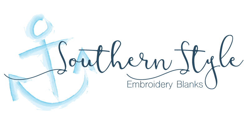 Logo Design Southern Style Embroidery Blanks On Behance