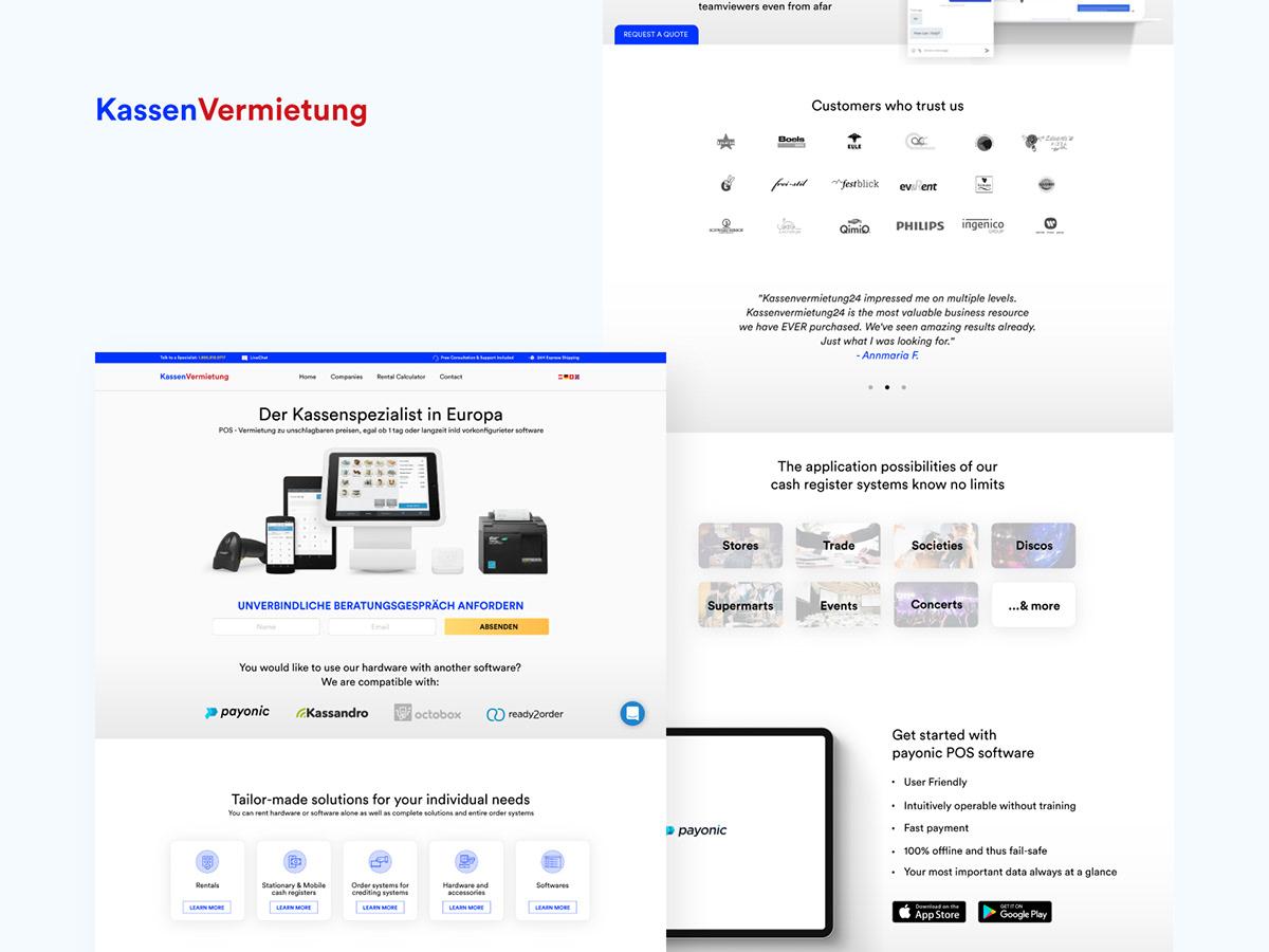 Kassen Homepage