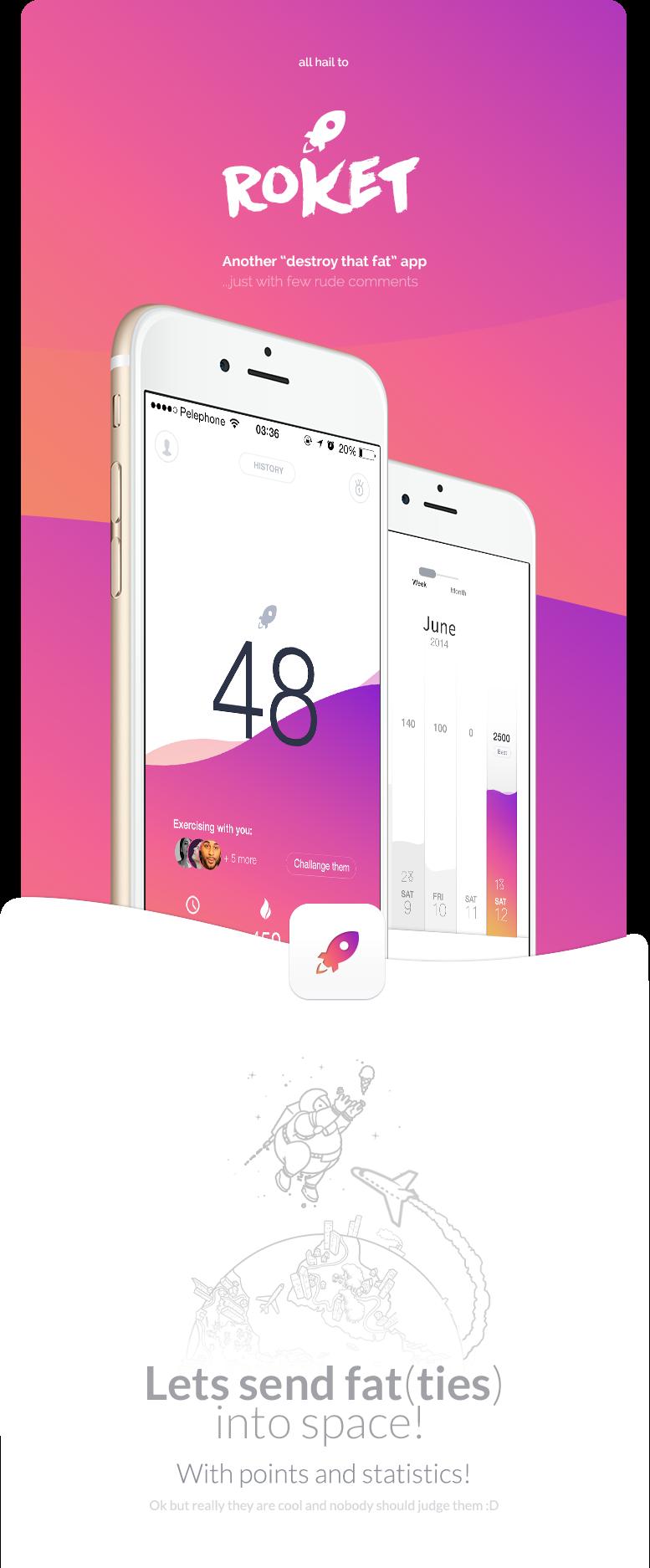 mobile UI Health app fitness design Interface aplication interaction running jogging lifestyle fluid sambora