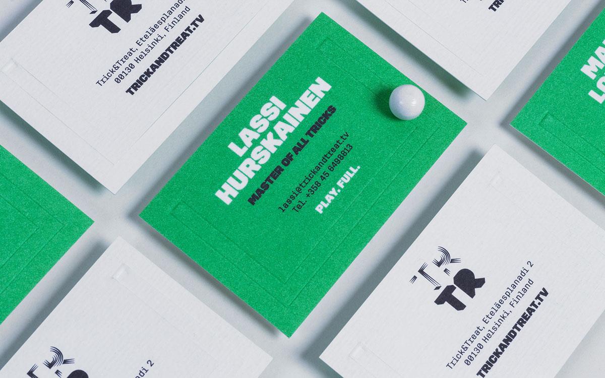 logo,branding ,trick,treat,goal,business card,typography