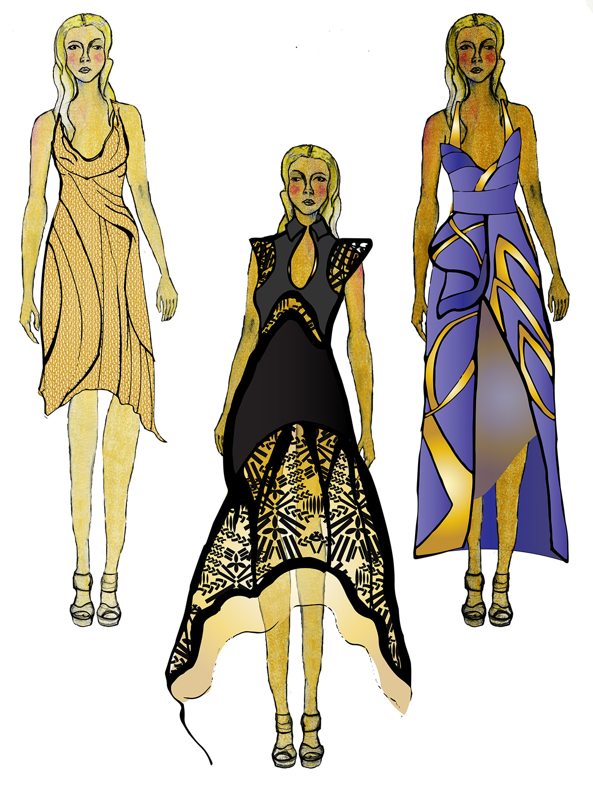 Fashion Design Concept For Zuhair Murad On Philau Portfolios
