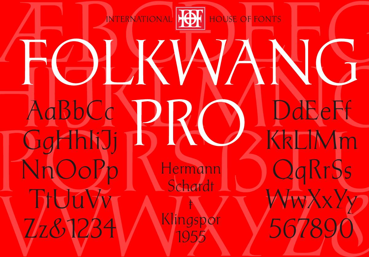P22 Folkwang Pro - Digital Type Design on Behance