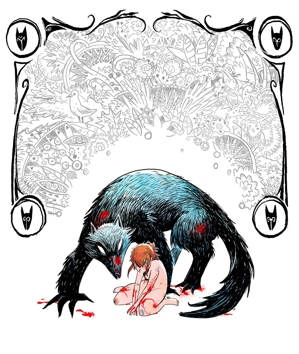 crowdfunding Comic Book bandeedesinee bd comics girl wolf manga