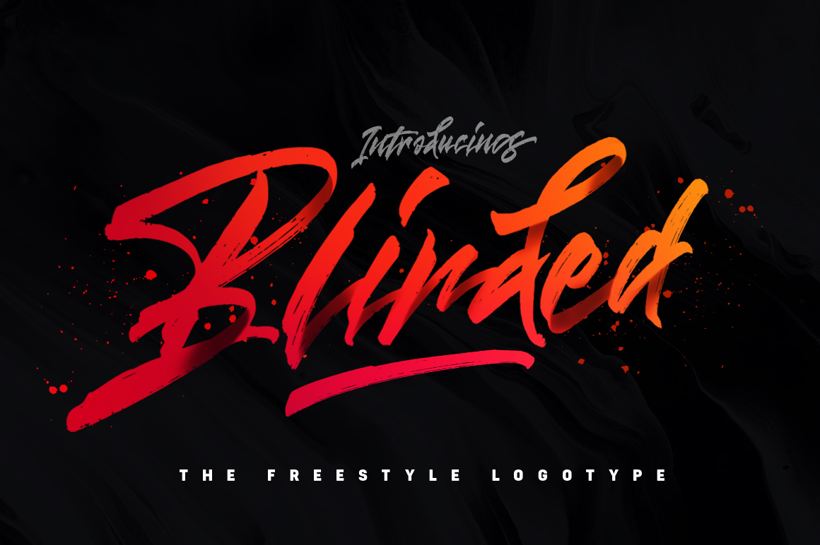 Blinded Freestyle Logotype On Behance