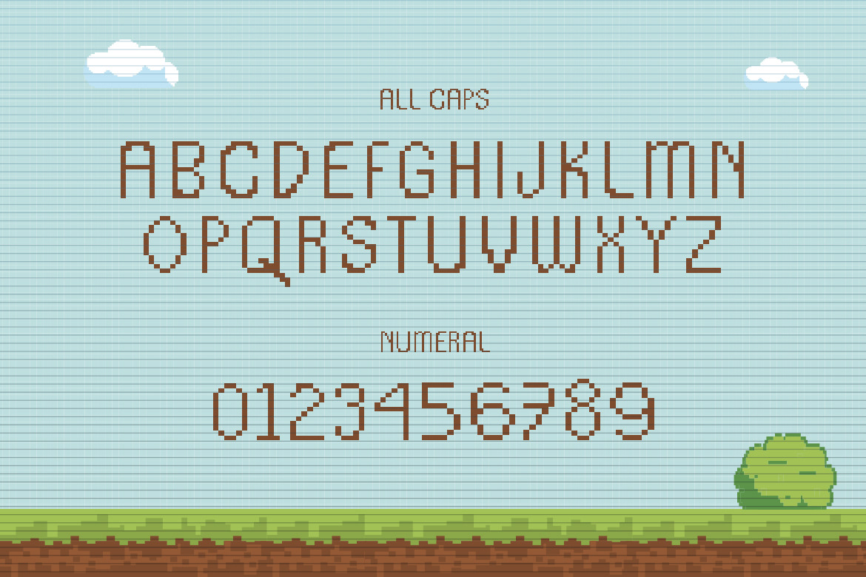 app branding  Clothing game movie music Packaging pixel font retro brand uppercase