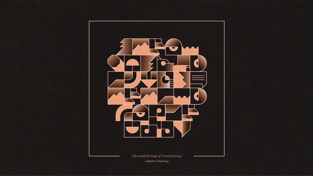 generative alphabet interactive vector gradient Gramatik epigram