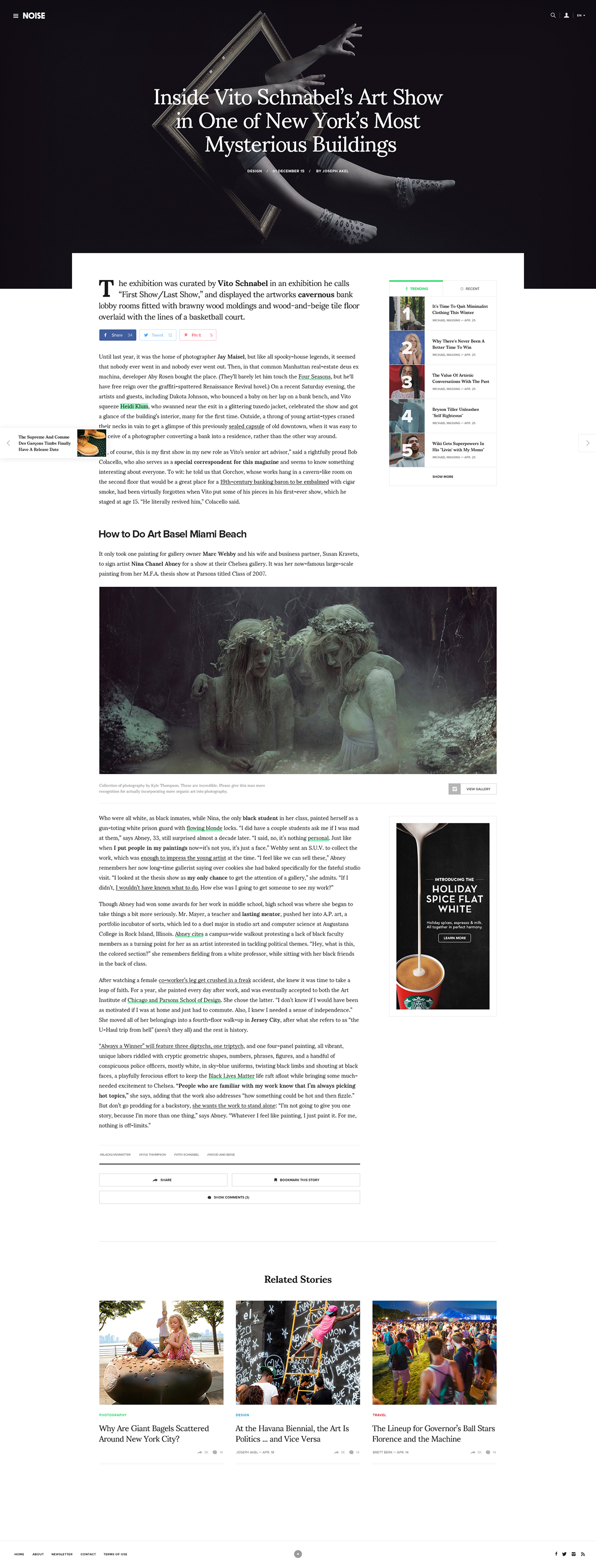 magazine article journal Blog clean minimal modern news