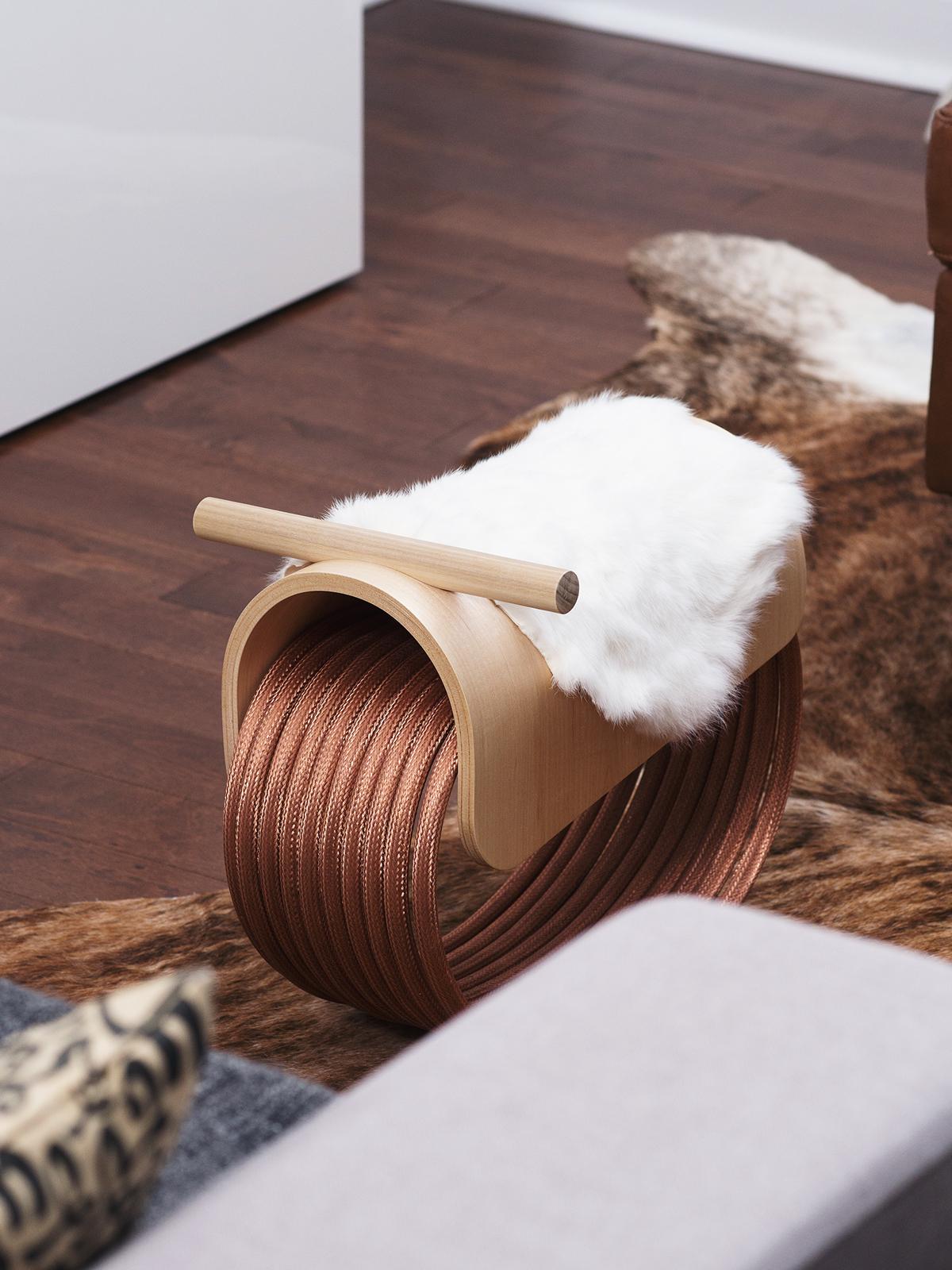 industrialdesign furniture children toy wood copper