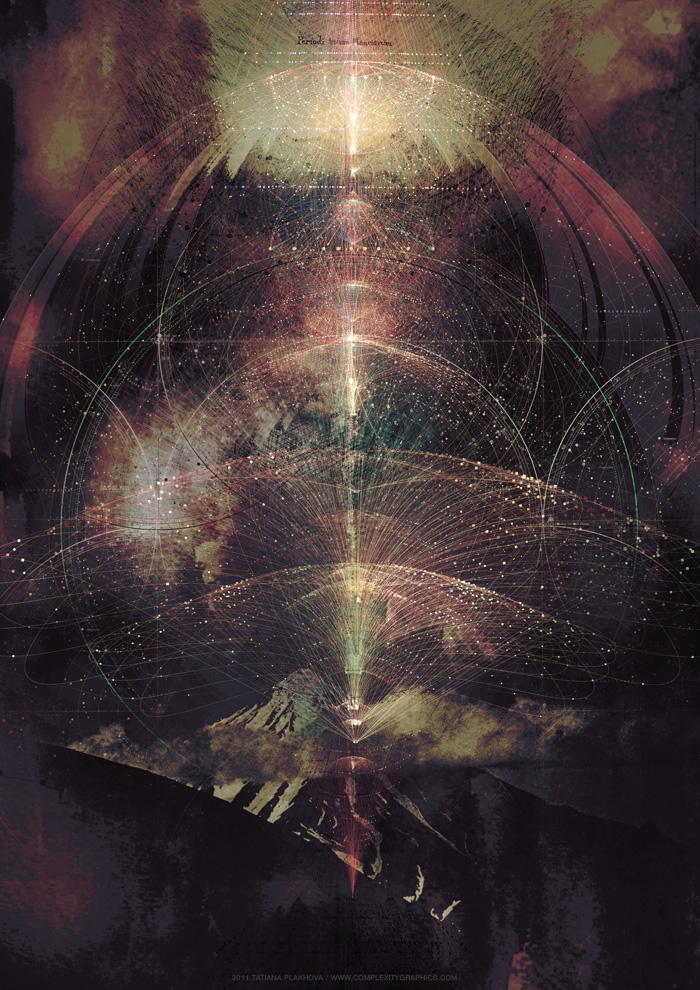 meditation Ambient abstract Space  scheme knowledge