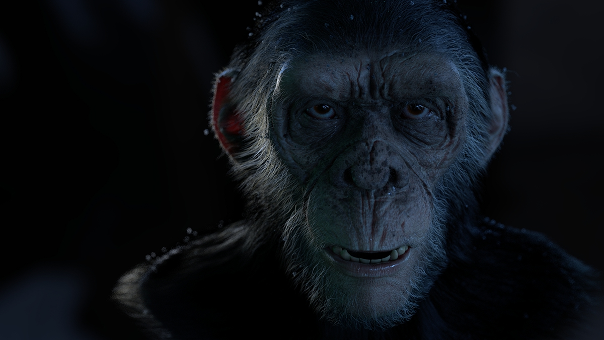 caesar planet of the apes fan art on behance
