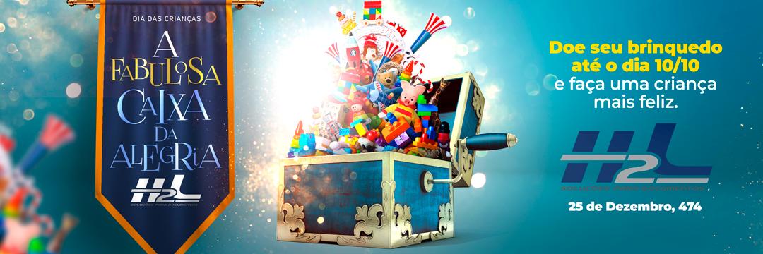 campanha Crianças brinquedos doação Propaganda Outdoor cartaz Dia das Crianças ad visual identy