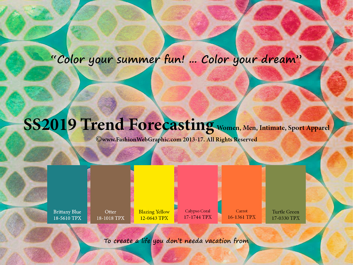ss2019 trend forecasting on pantone canvas gallery. Black Bedroom Furniture Sets. Home Design Ideas