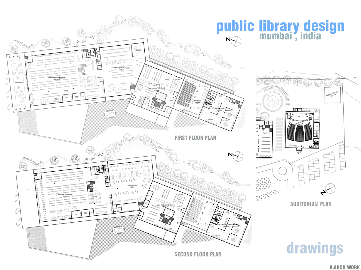 Design Thesis Public Library B Arch May On Behance