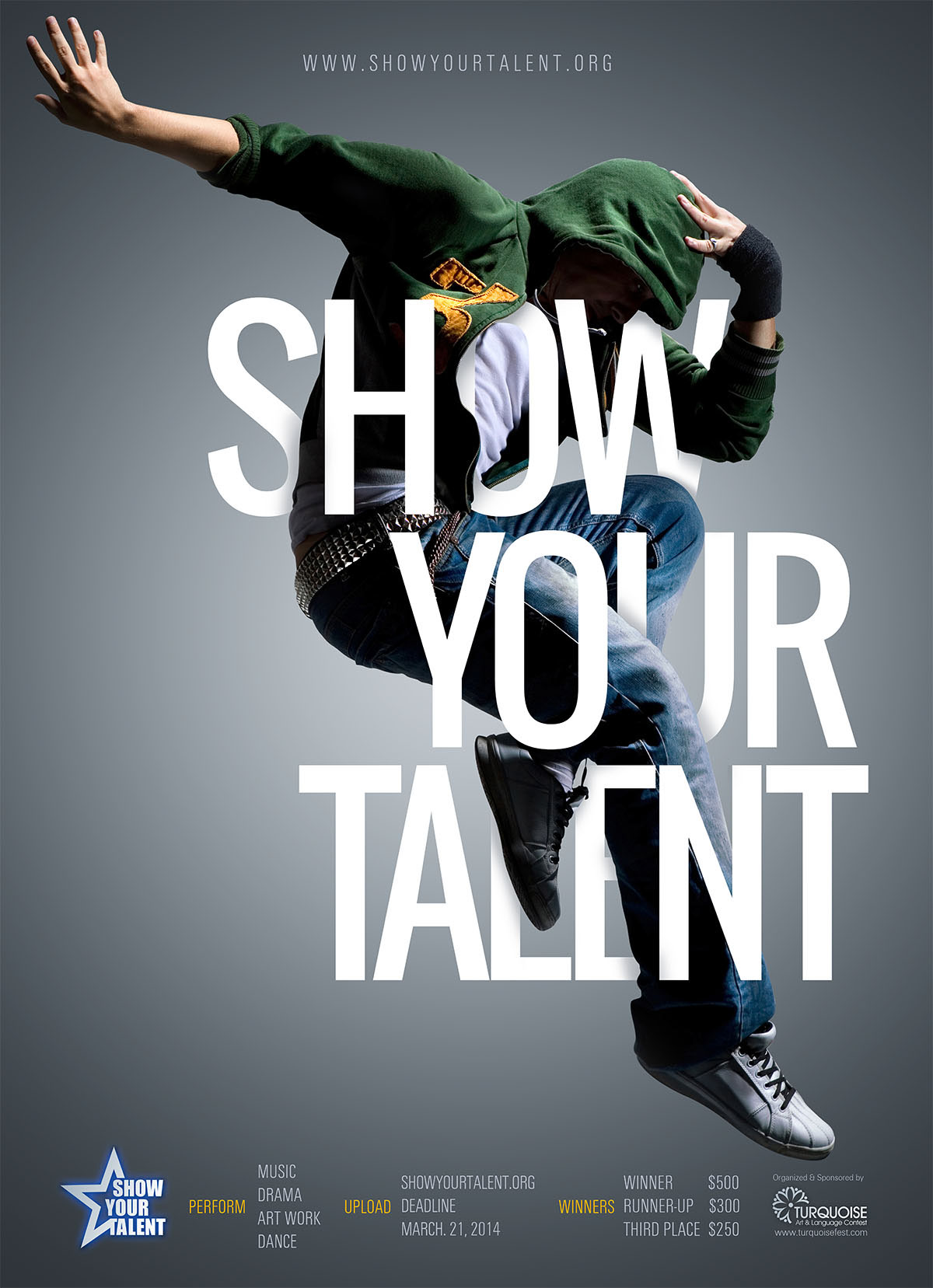 Show Your Talent Poster On Behance