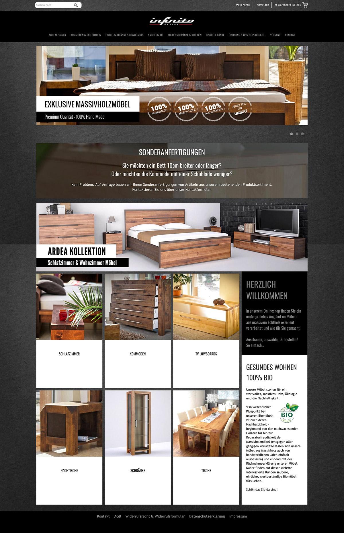 Shop Design - Infinito Design Shop on Behance