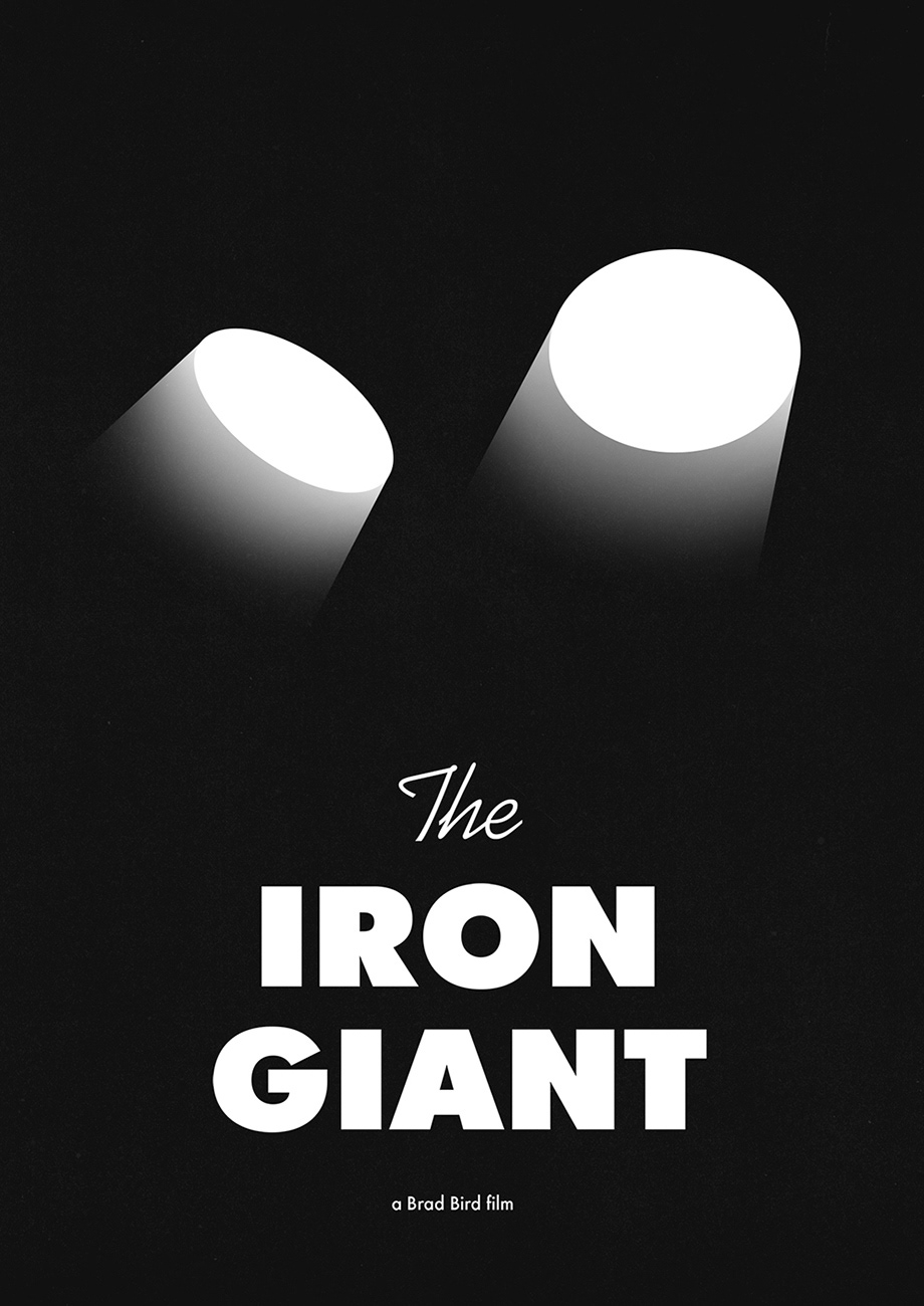 Poster for The Iron Giant movie