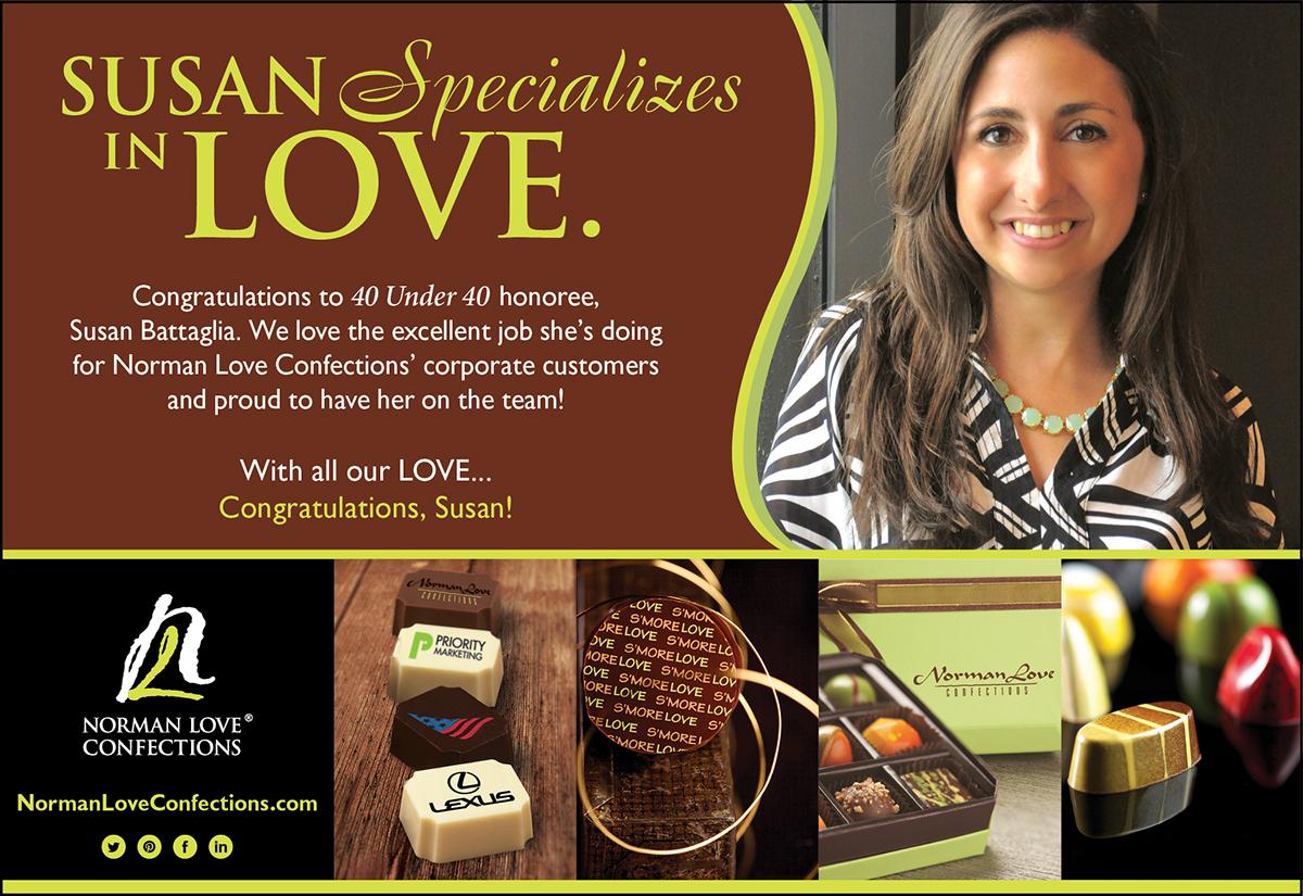 Norman Love Employee Spotlight Ad On Behance