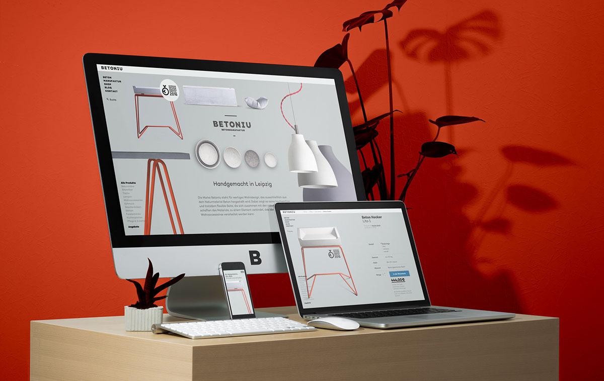 wordpress identity web development  Web Design  Webdesign grey concrete