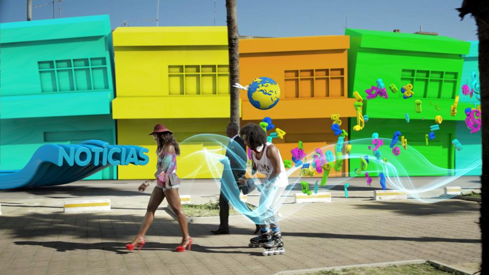 3D,motion design,angola,mobile,Wi-Fi,Hub