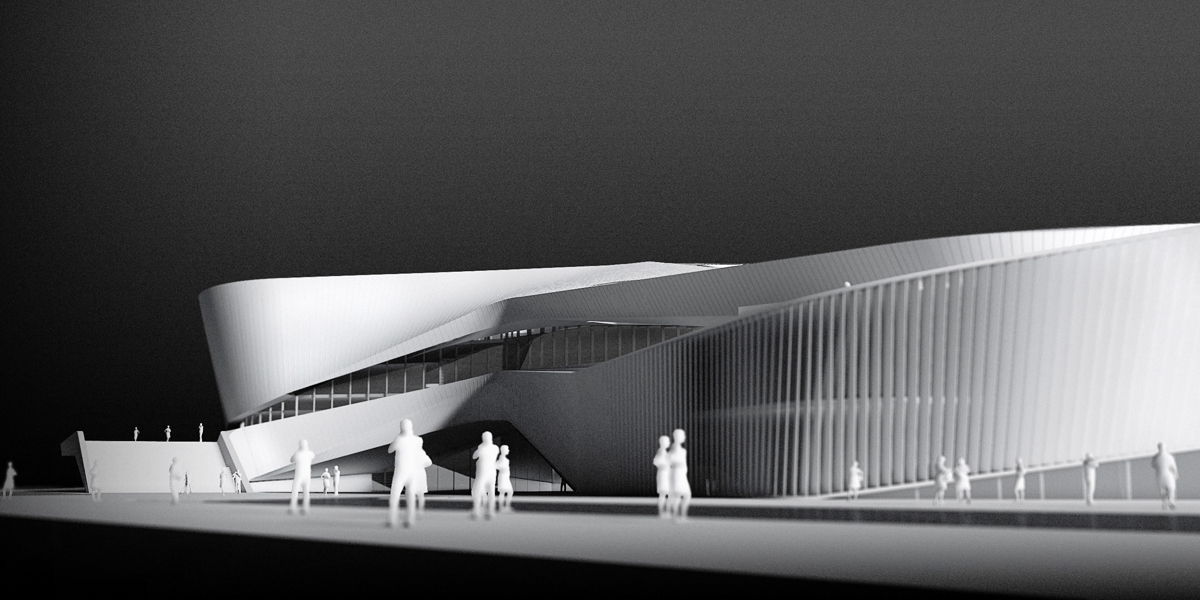 Zhuhai Culture Center Competition Design Concept On Behance