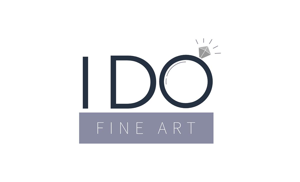 Logo Design logo fine art Illustrator wedding marriage minimalist Proposal ring Small Business