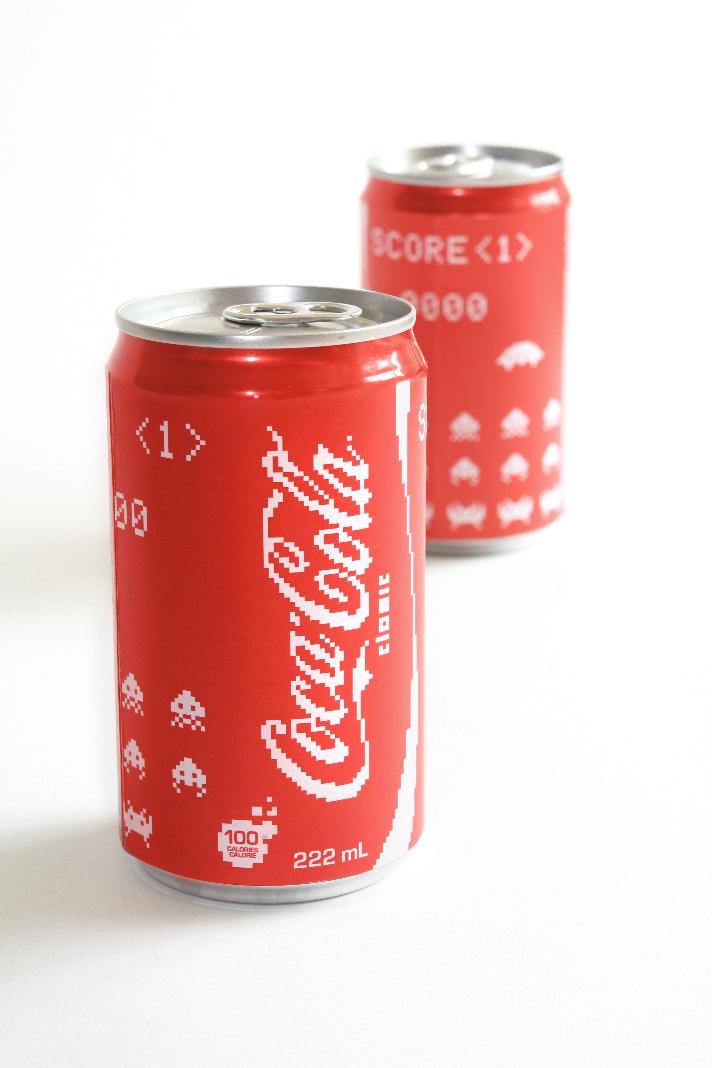 coka-cola coke diet zero package can cans pop soda beer pixel art video game