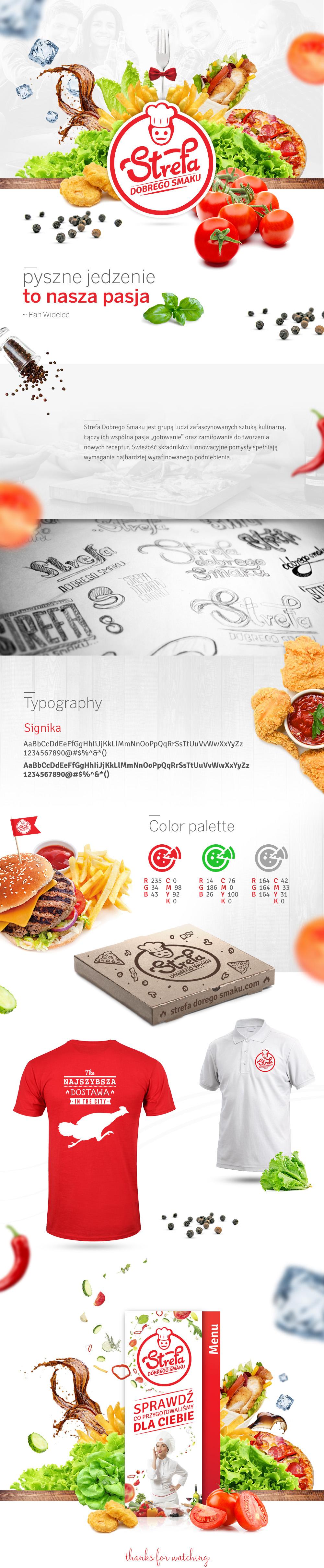 Food  Fast food restaurant taste kitchen Pizza fresh cooking design Art Director